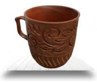 Бокалы, чашки из красной глины оптом с доставкой