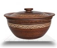 Столовая посуда из красной глины оптом с доставкой